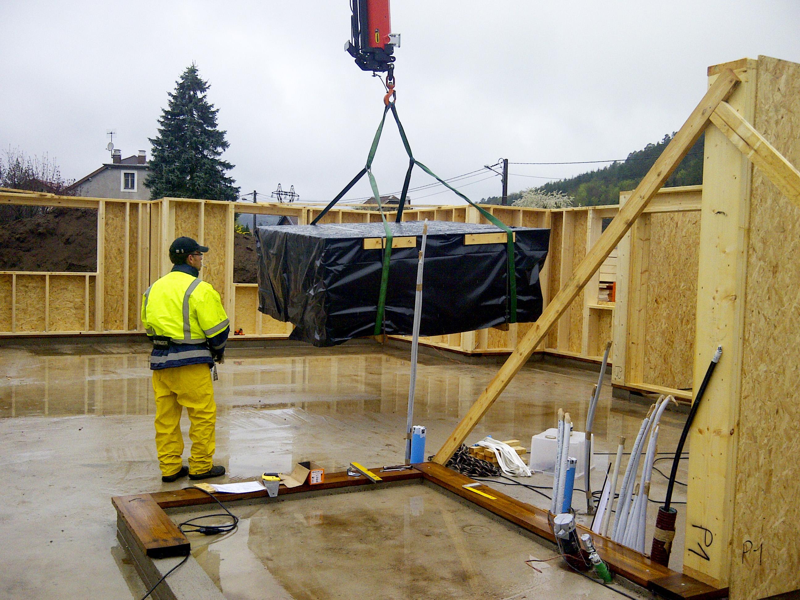 Usine de construction de maison en bois maison moderne for Site construction maison