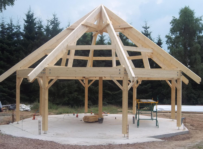 Am nagements ext rieurs vsb vosges structures bois for Kiosque exterieur