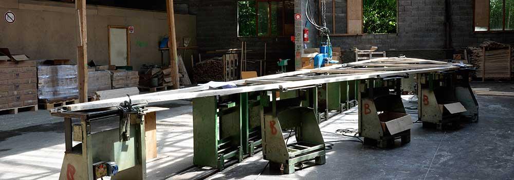 VSB - Atelier charpentes industrielles - Presses d'assemblage