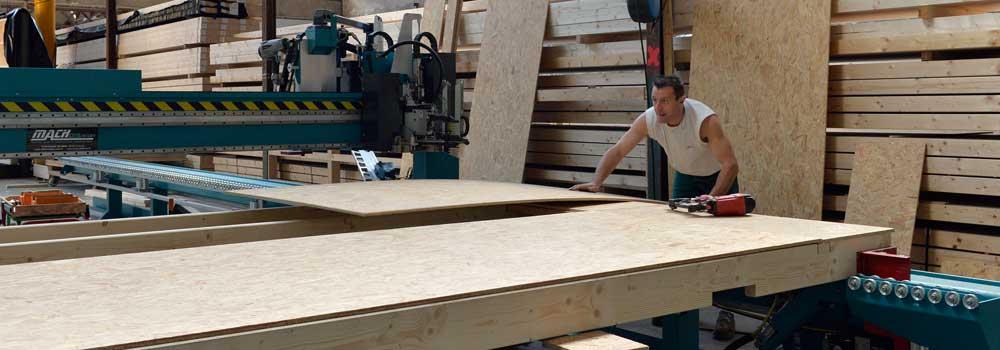 VSB - Atelier ossatures bois - Cadreuse numérique Hadol