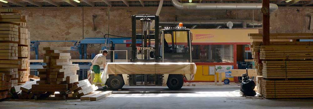 VSB - Atelier charpentes traditionnelles - Préparation livraison en kit
