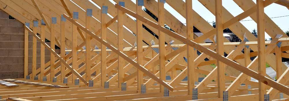 Charpentes industrielles bois