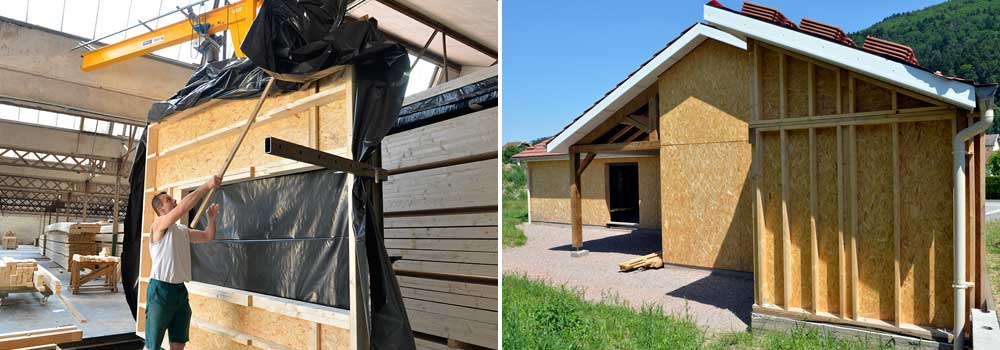Maisons ossatures bois