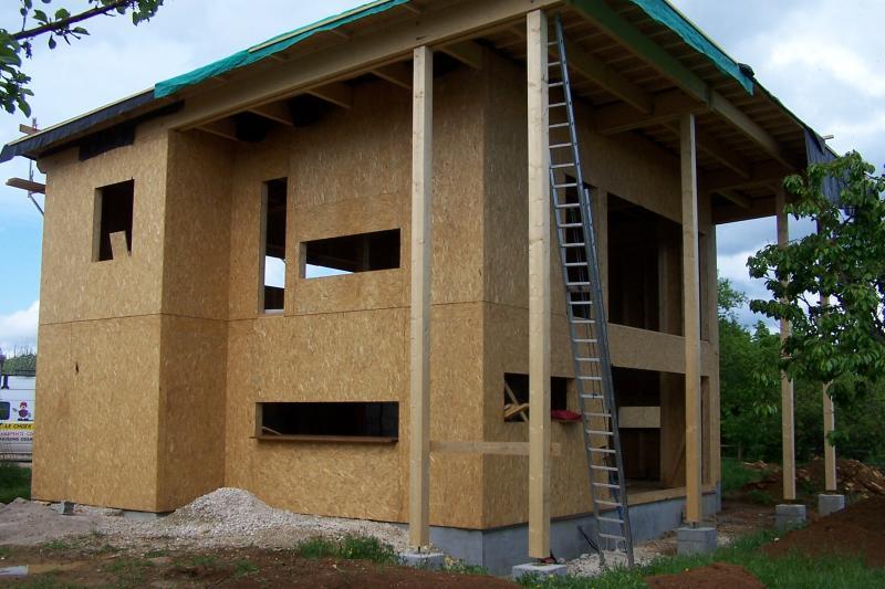 Maison ossatures bois