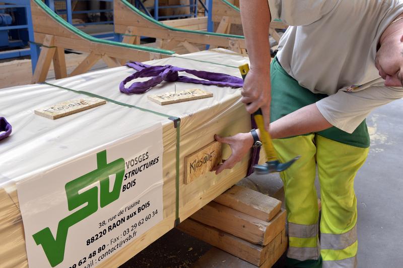 Emballage en kit et traçabilité