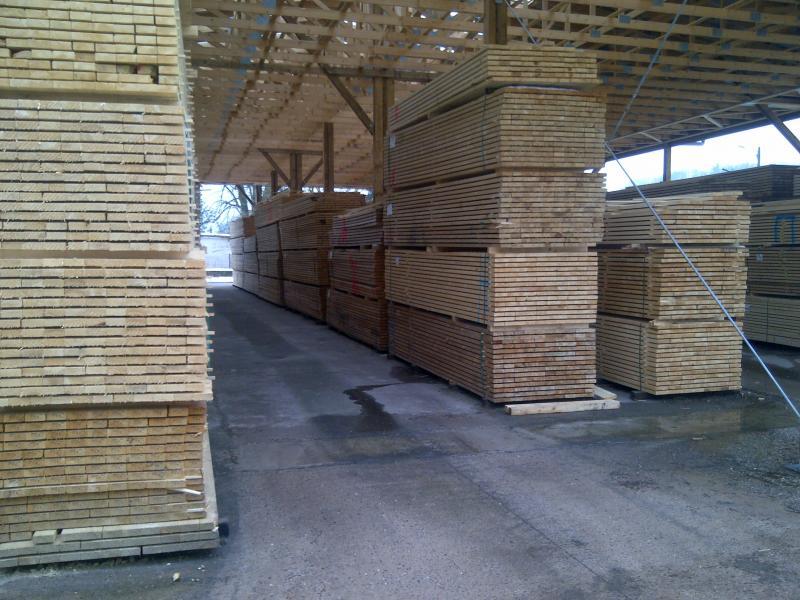 Stockage du bois sous abris - Norme CE